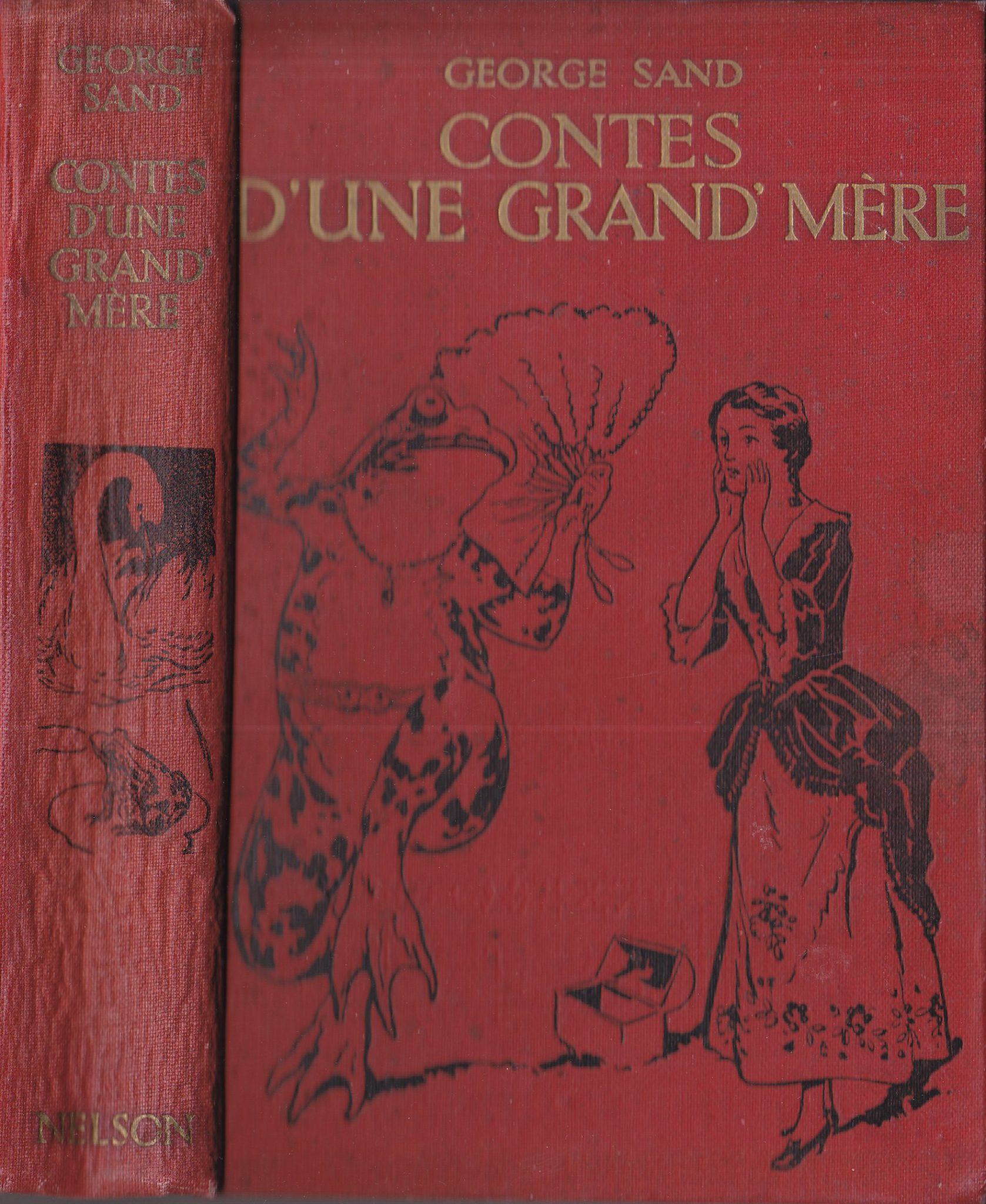 Contes d'une grand-mère par George Sand
