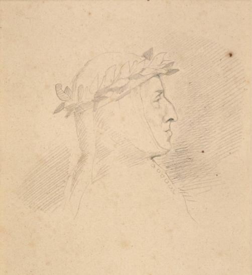 Chopin en Dante par Delacroix