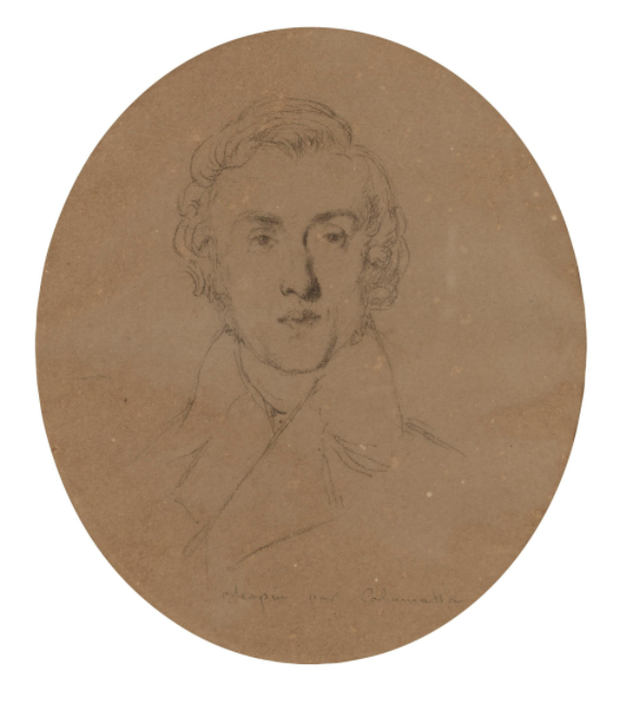 Chopin par Calamatta 1838