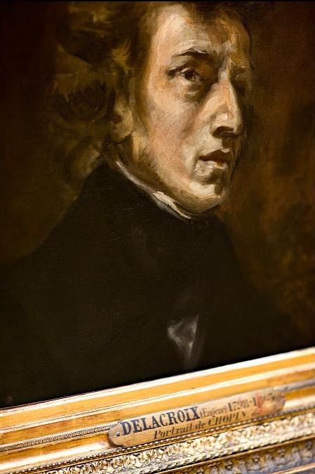 Chopin par Delacroix profile