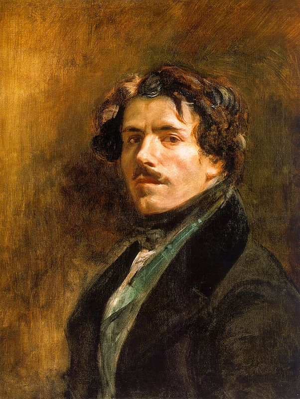 Delacroix Autoportrait