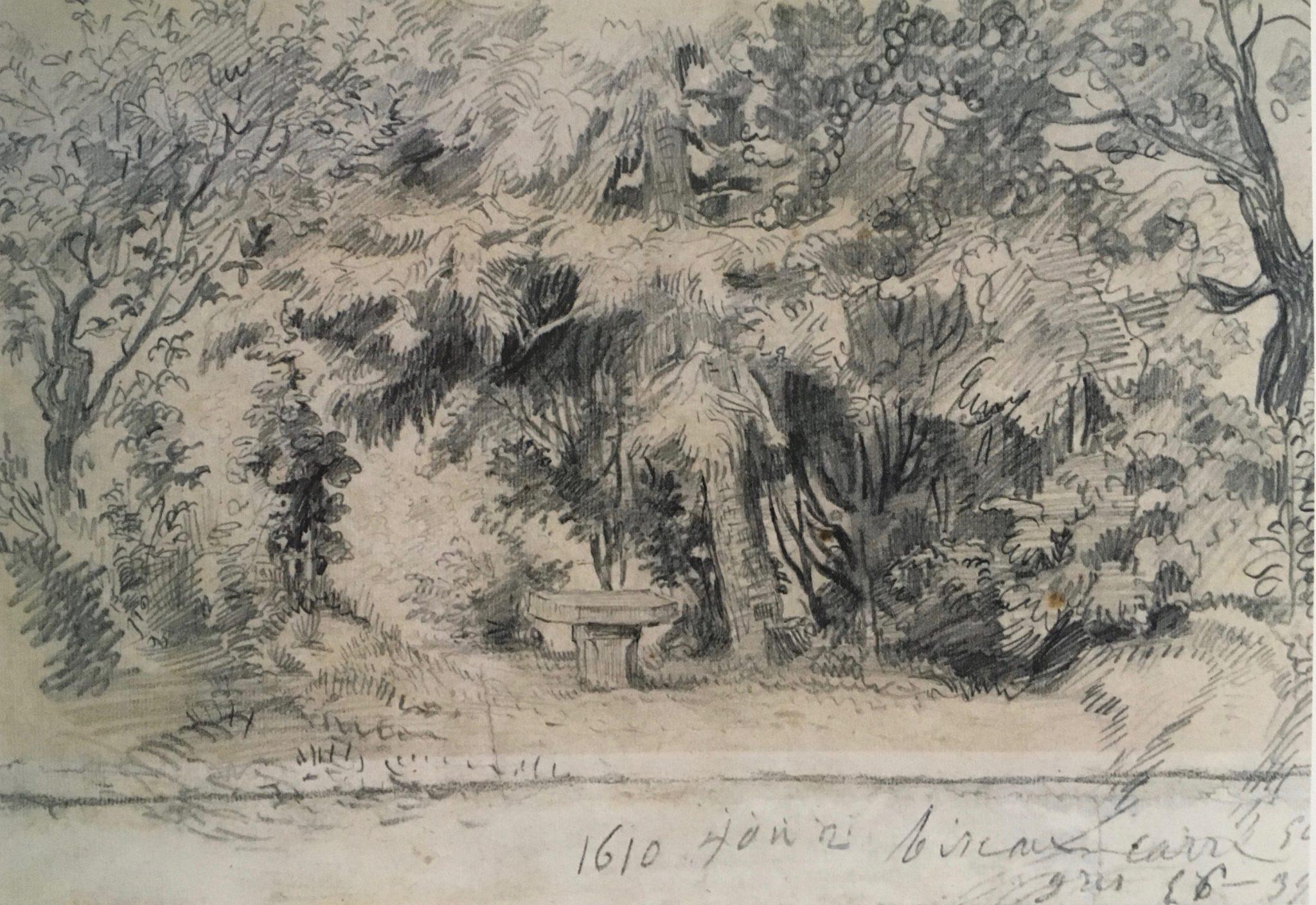 Dessin Delacroix