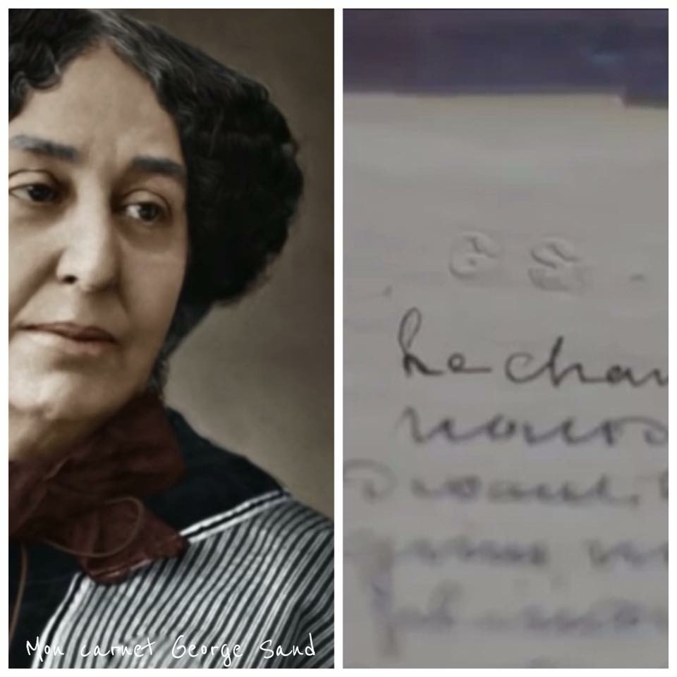George Sand Lettre