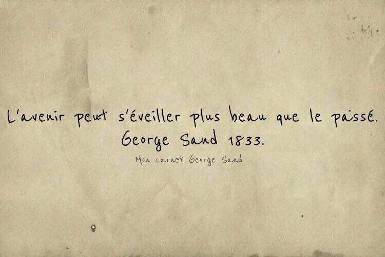 George Sand citation