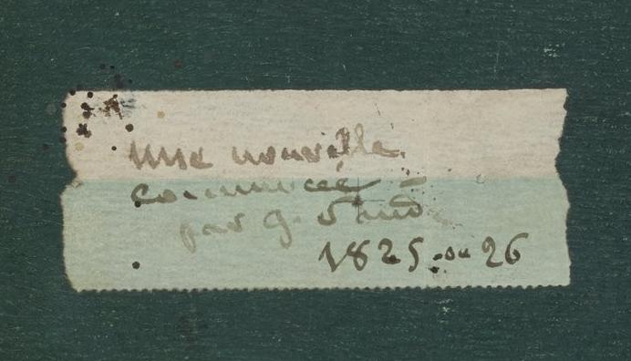 Histoire du Rêveur étiquette