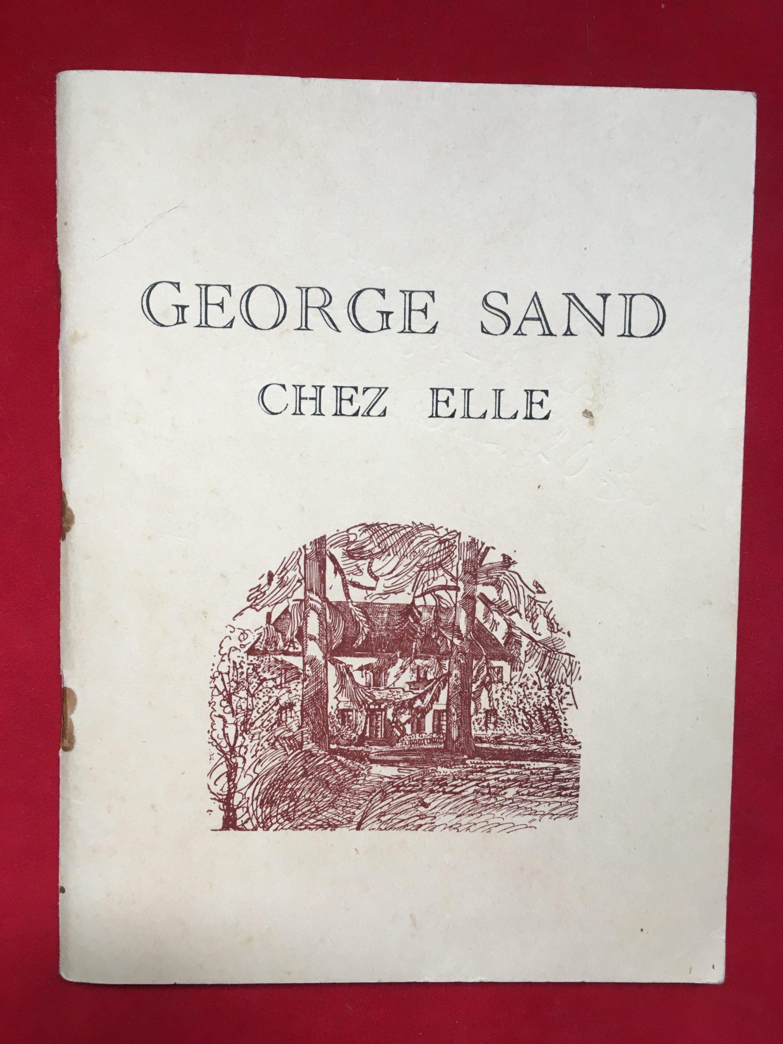 George Sand chez elle