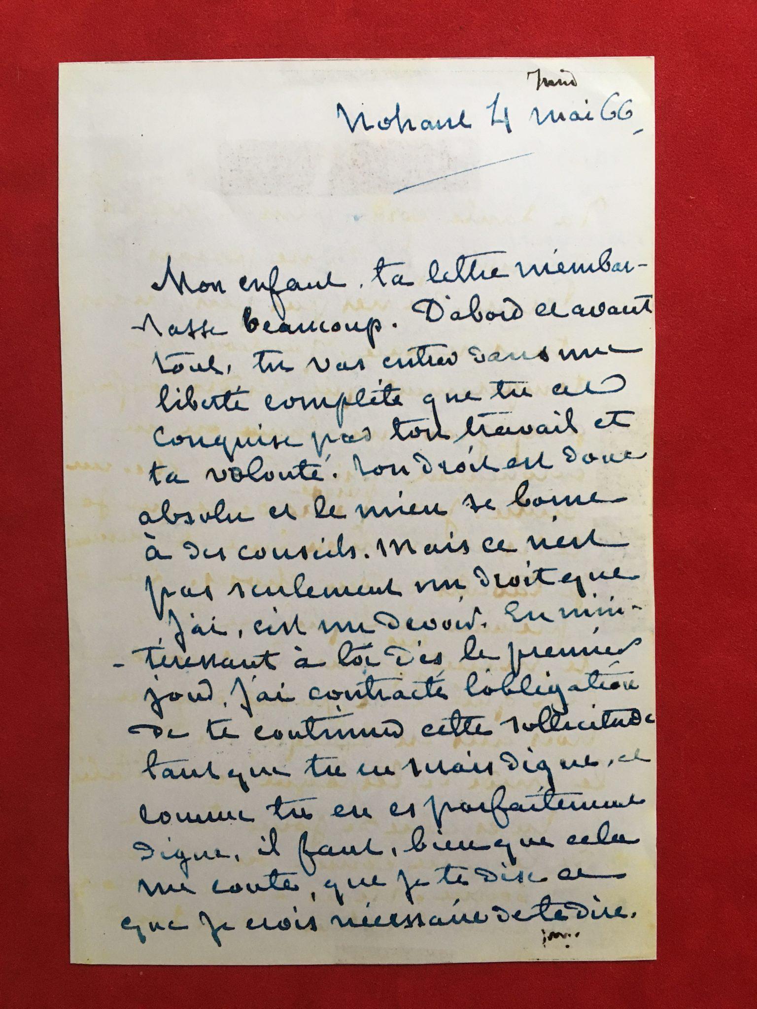George Sand correspondance