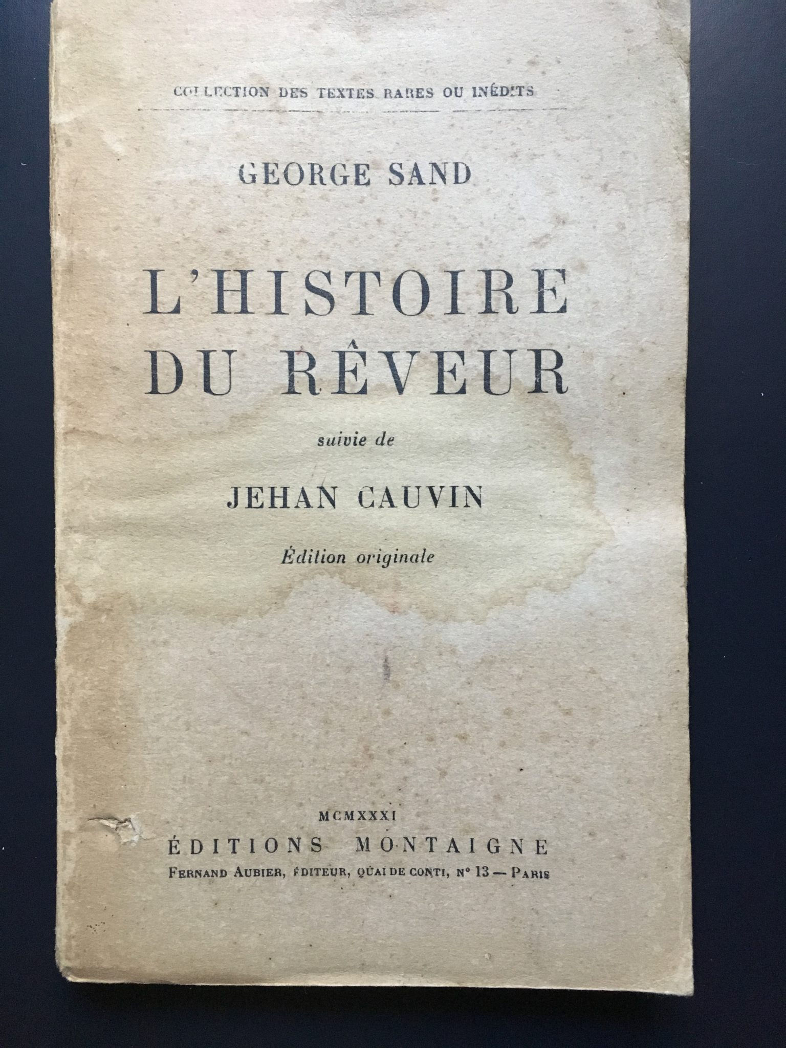 L'histoire du Rêveur