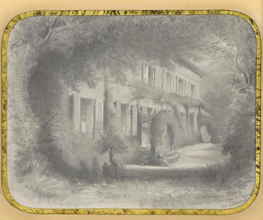 Nohant par Eugène Lambert