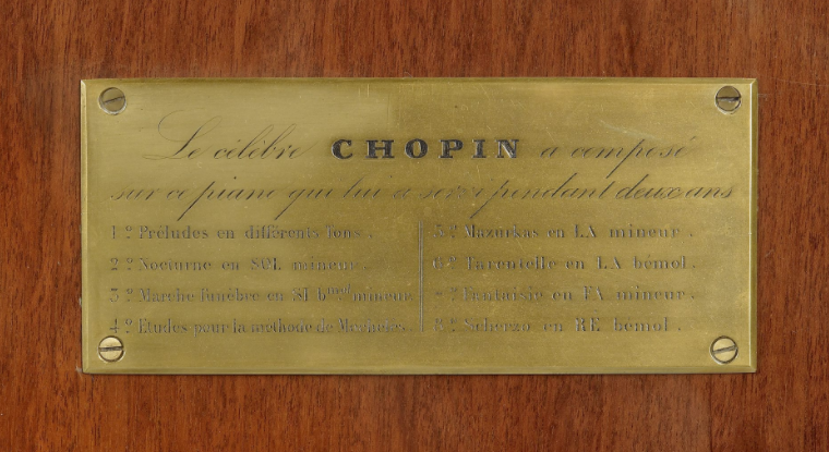 Piano Pleyel Chopin 4