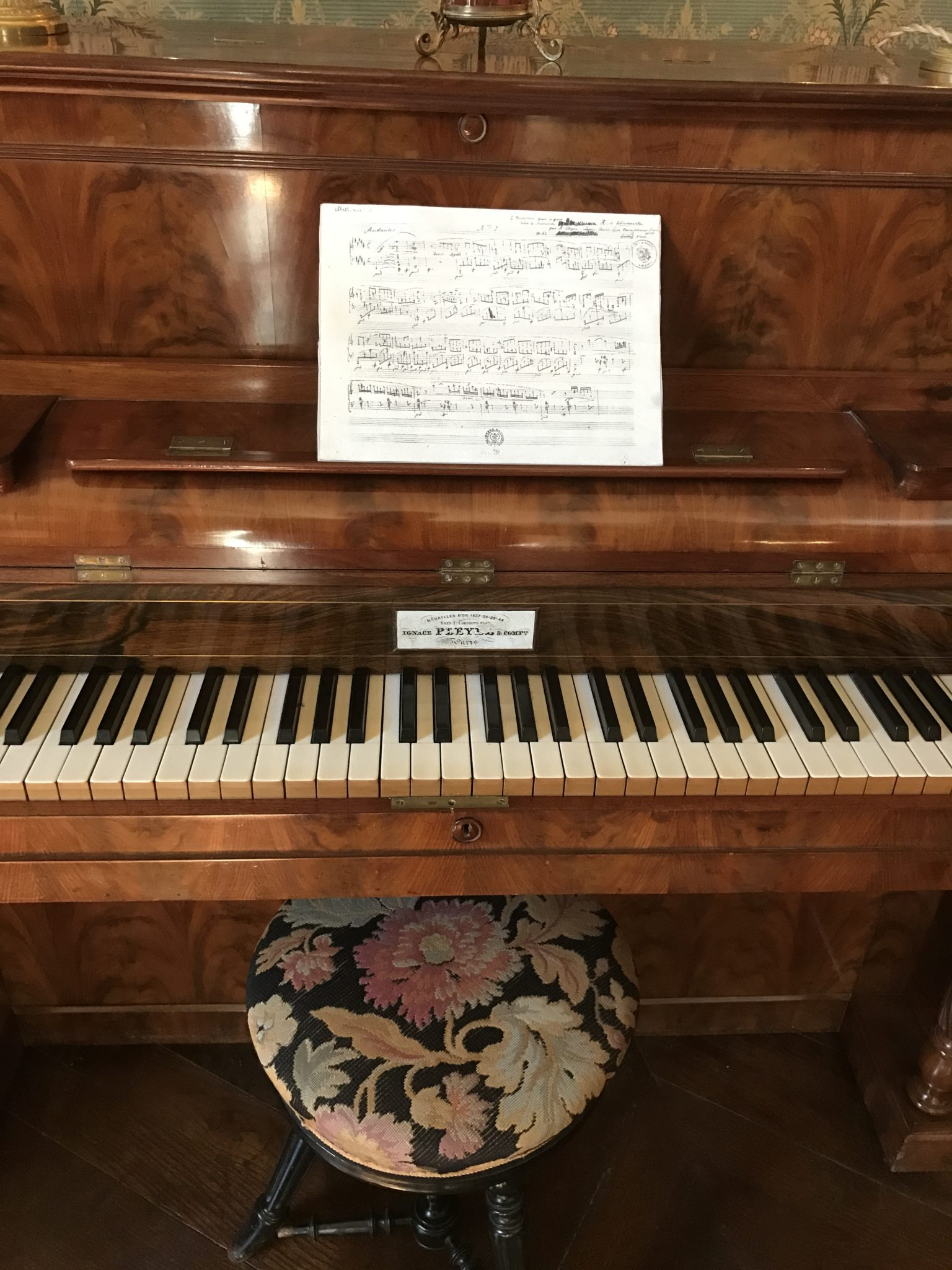 Piano à Nohant