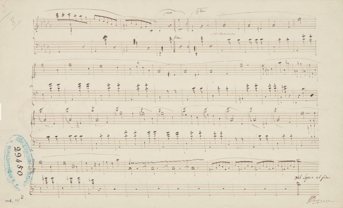 Valse OP 64 page 2. F.CHopin