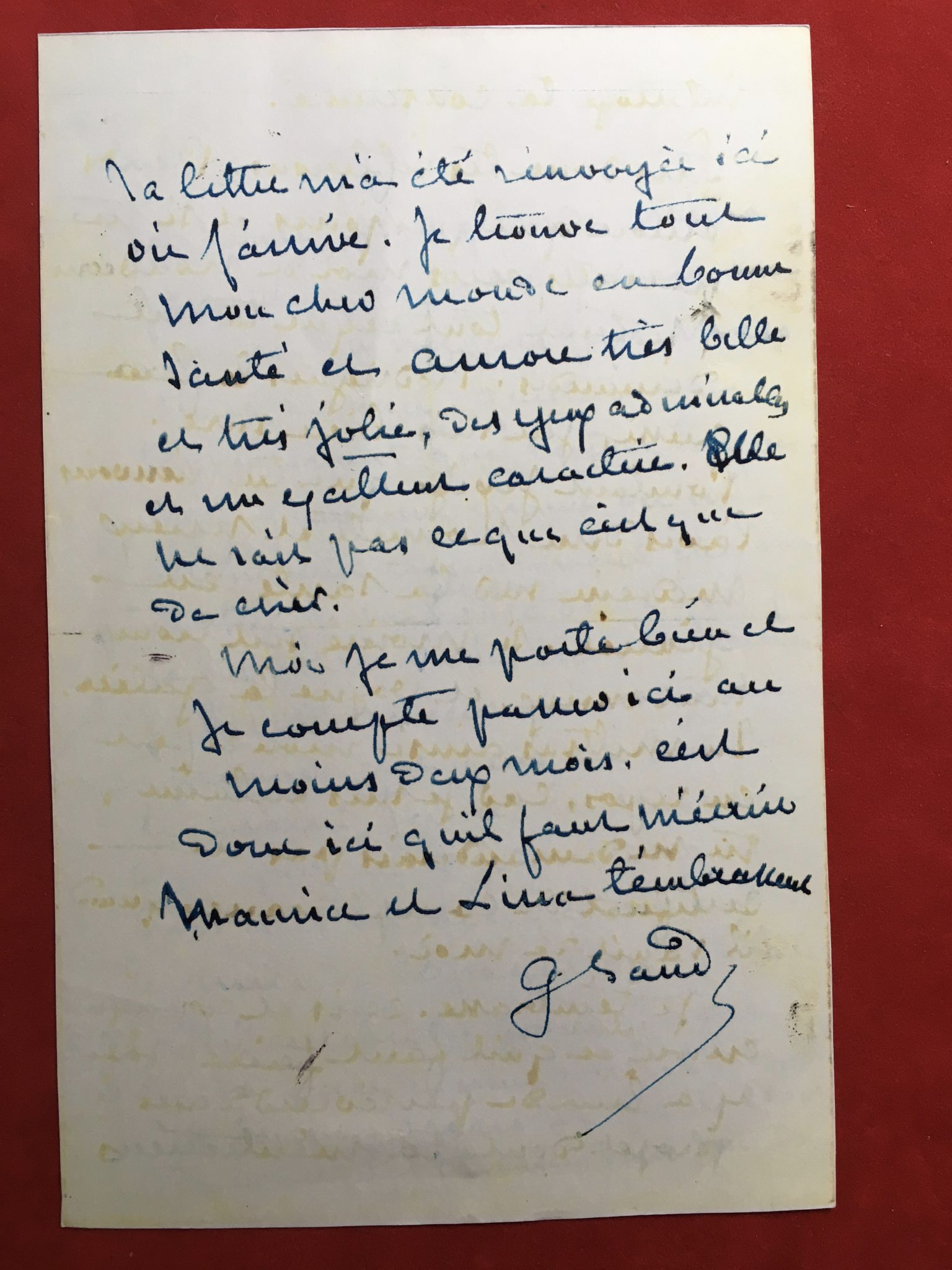 George Sand correspondance 4