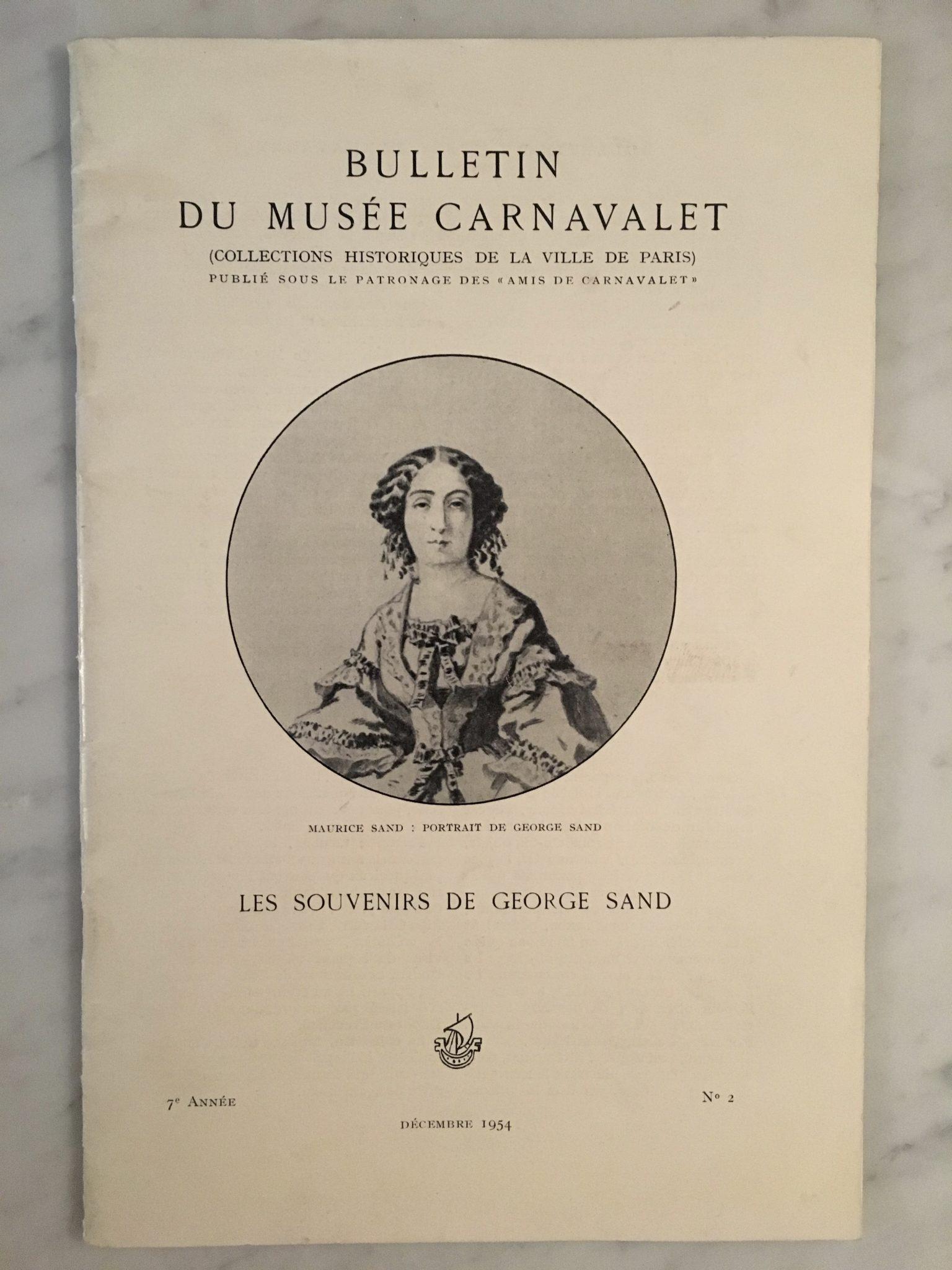 Les souvenirs de George Sand
