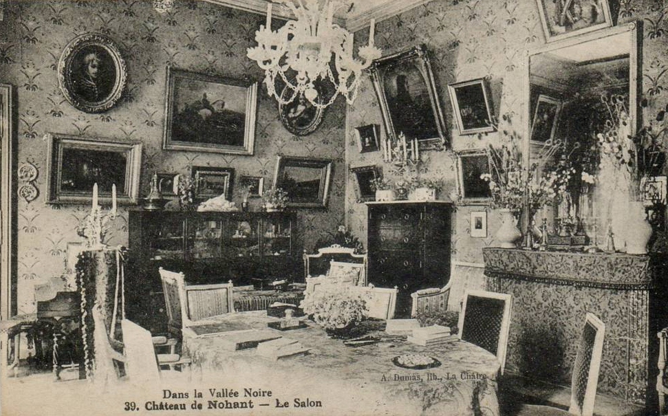 Le salon vers 1900