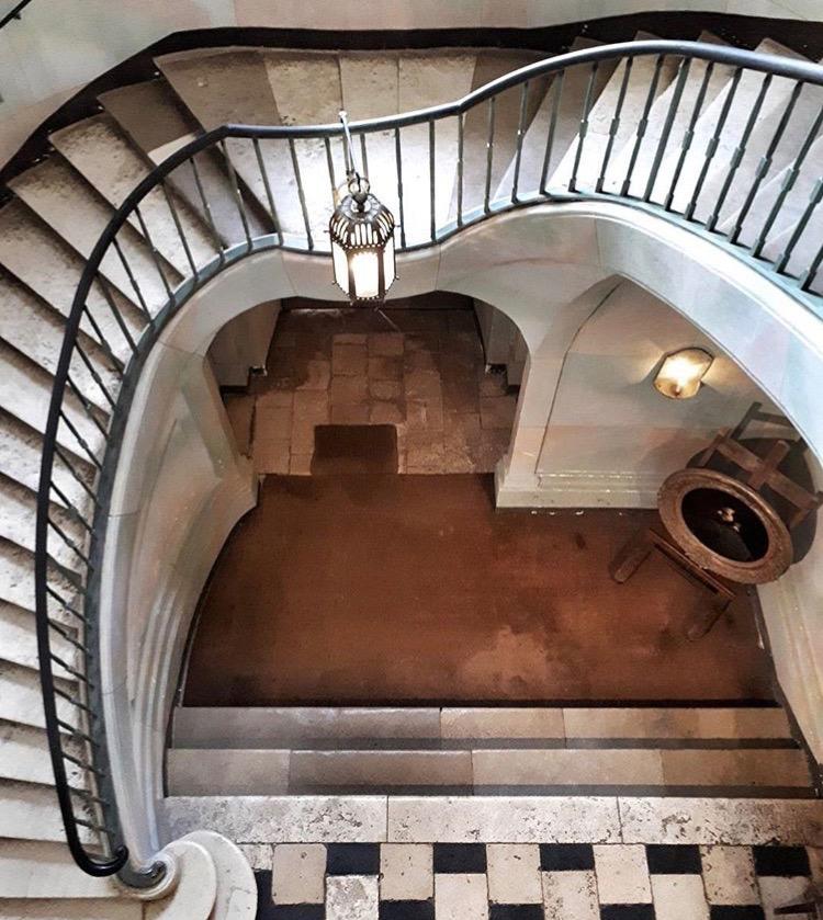 Escalier Nohant1