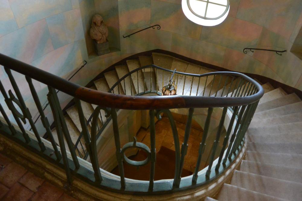 Escalier Nohant5