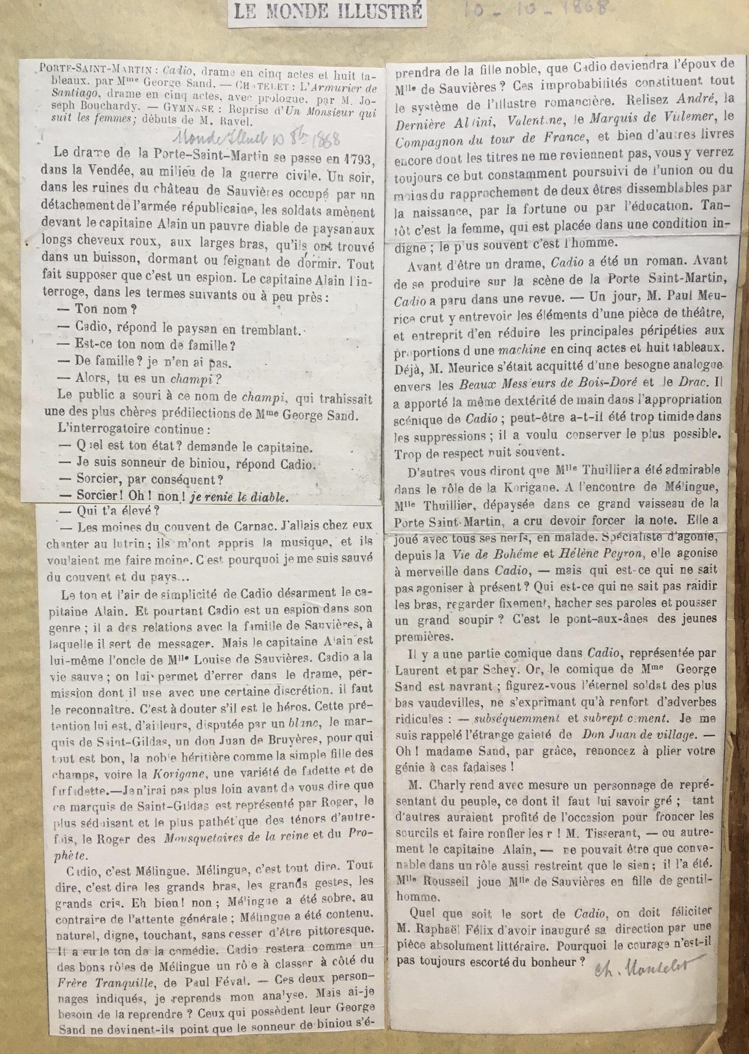 Le Monde Illustré 1868