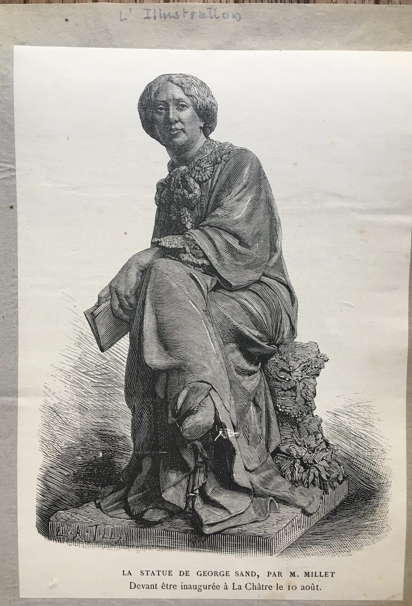 L'Illustration, La Statue