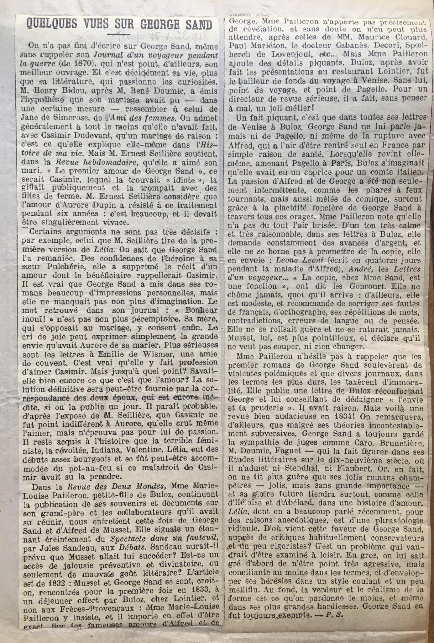 Le Temps 1918