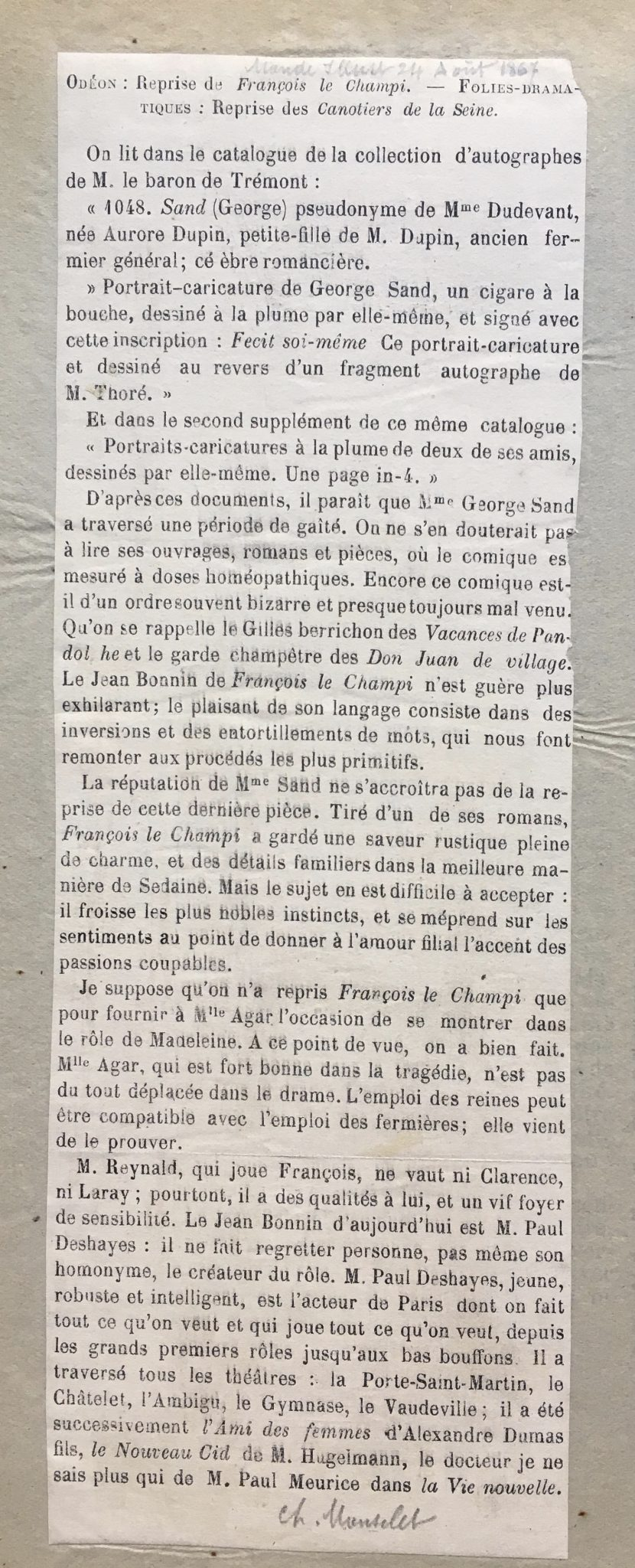 Le Monde illustré 1867