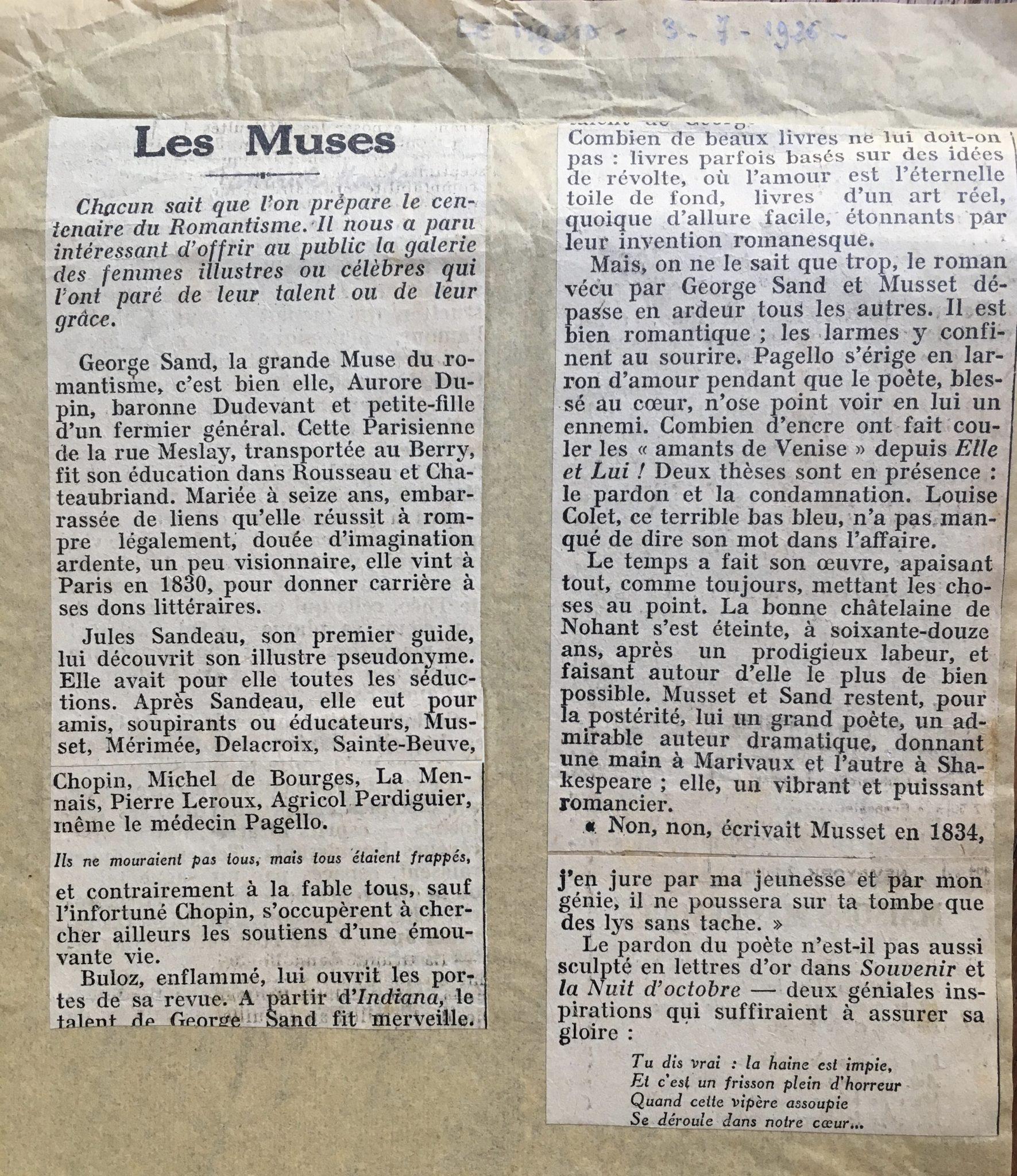 Le Figaro 1926