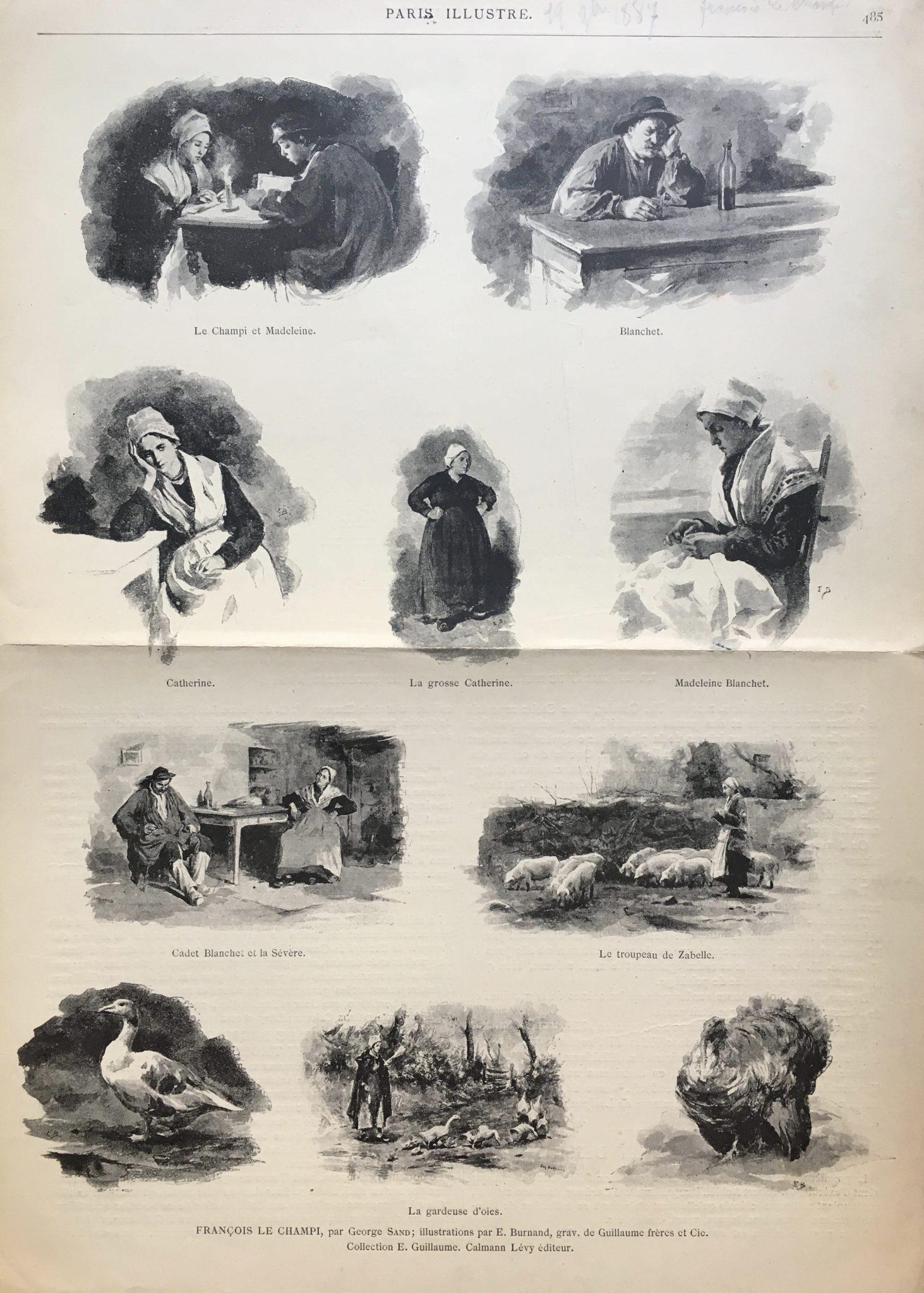 Paris Illustré 1887, François Le Champi