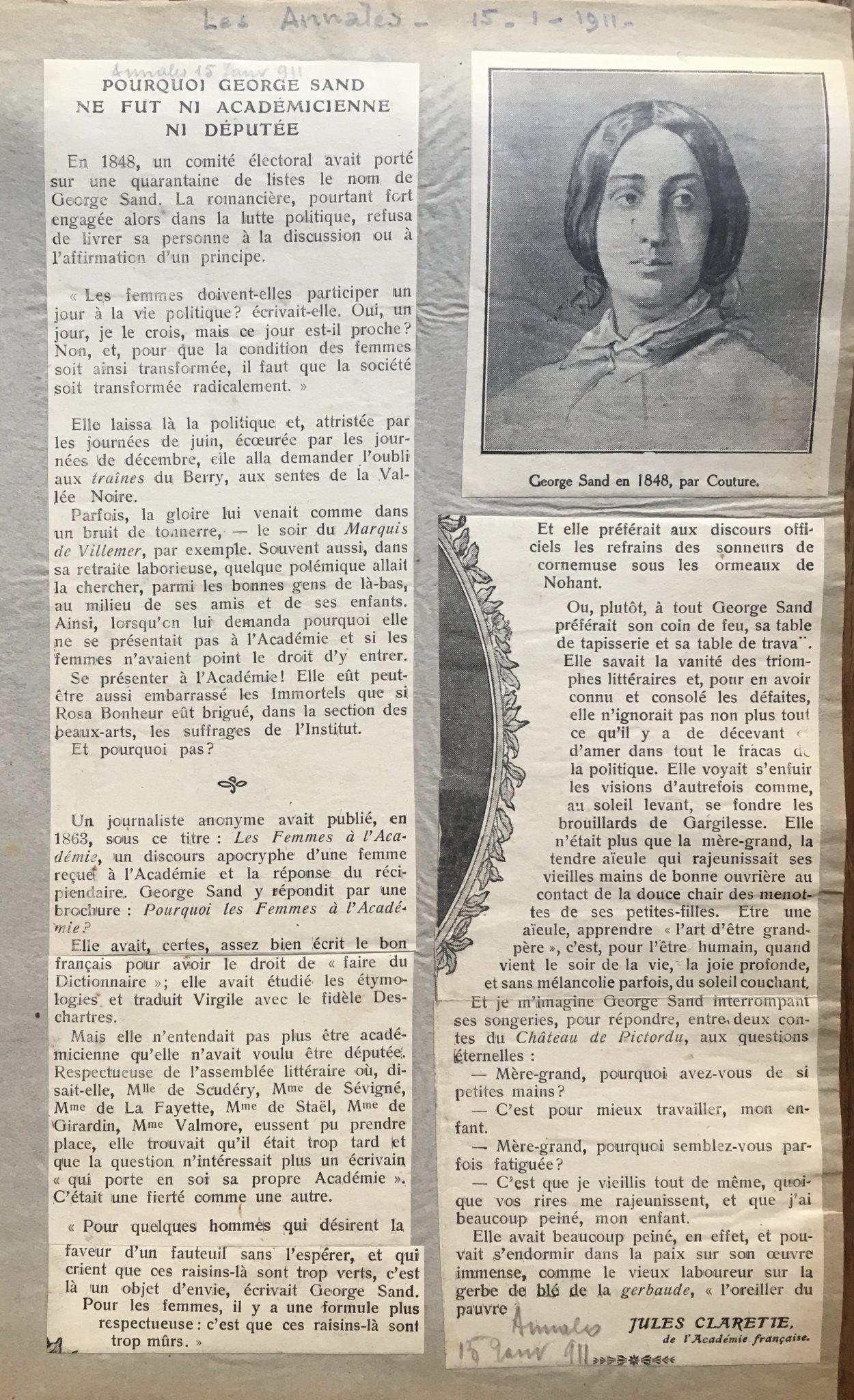 Les Annales 1911