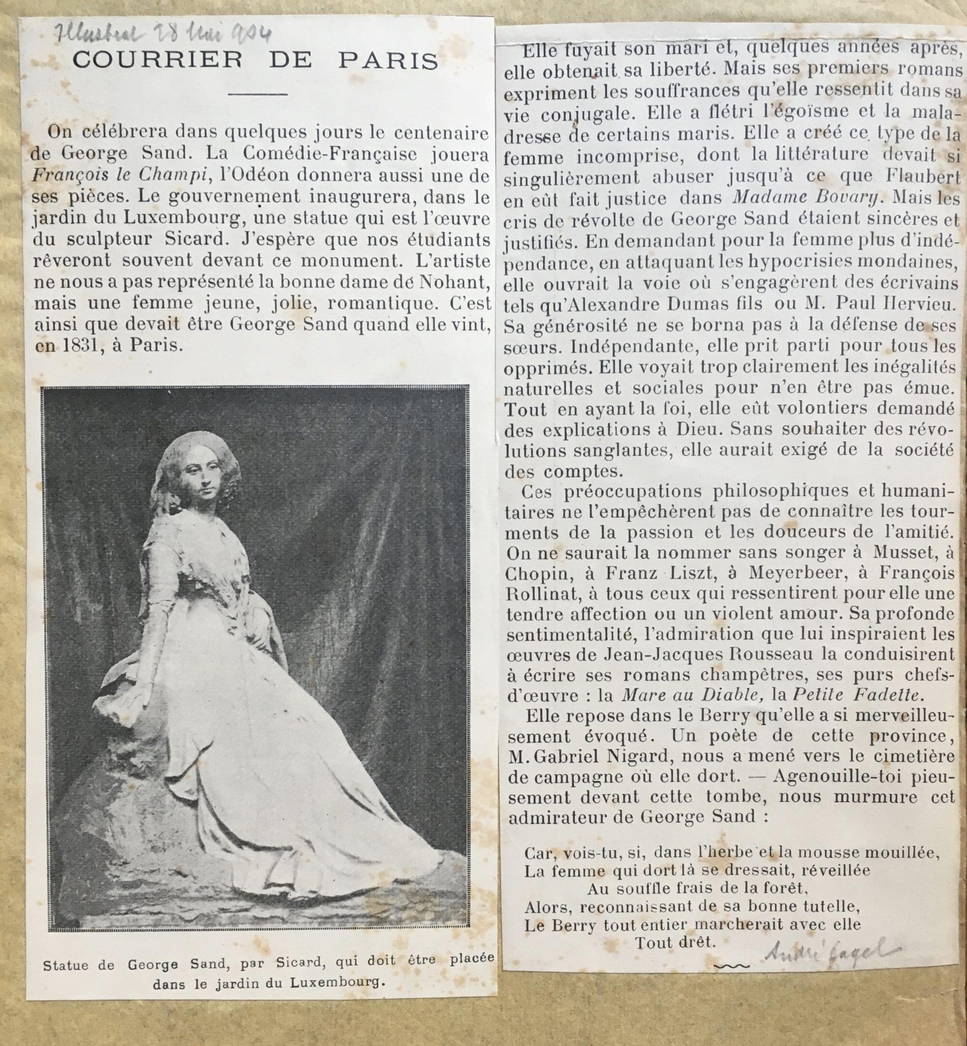 Courrier de Paris