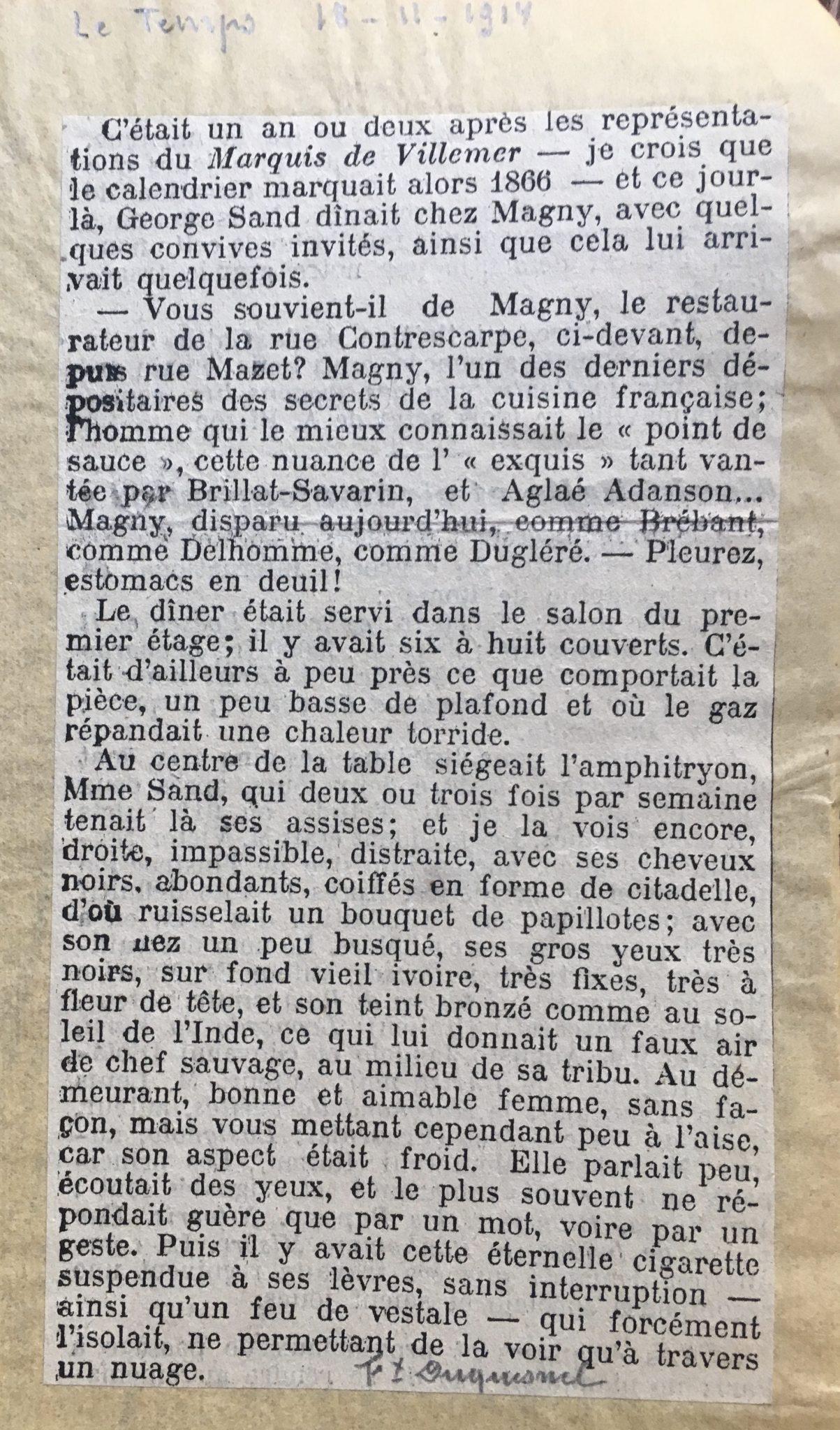 Le Temps 1914