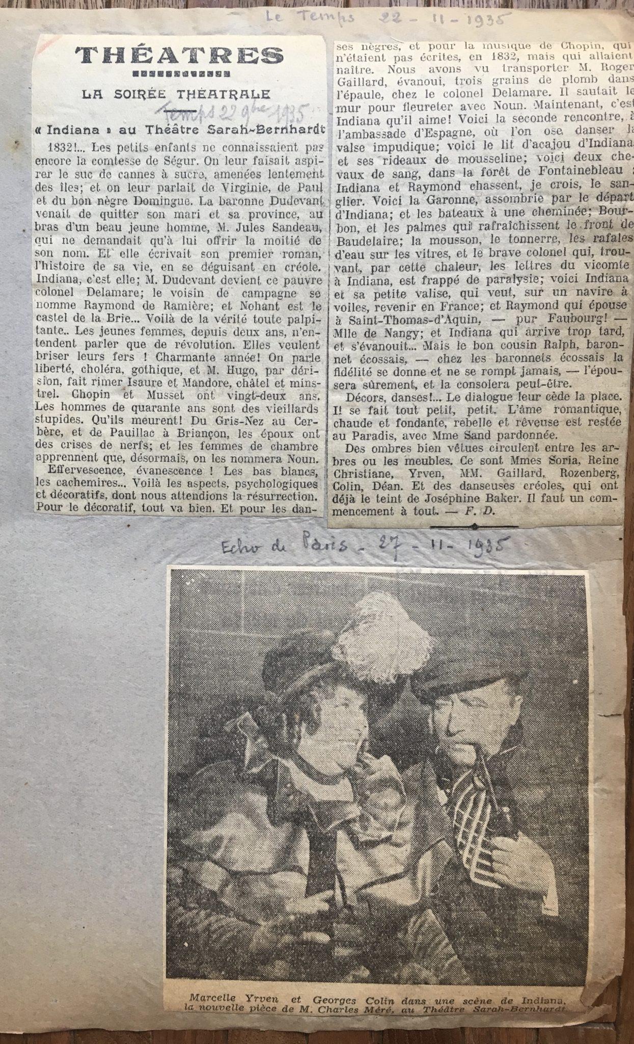 Le Temps 1935