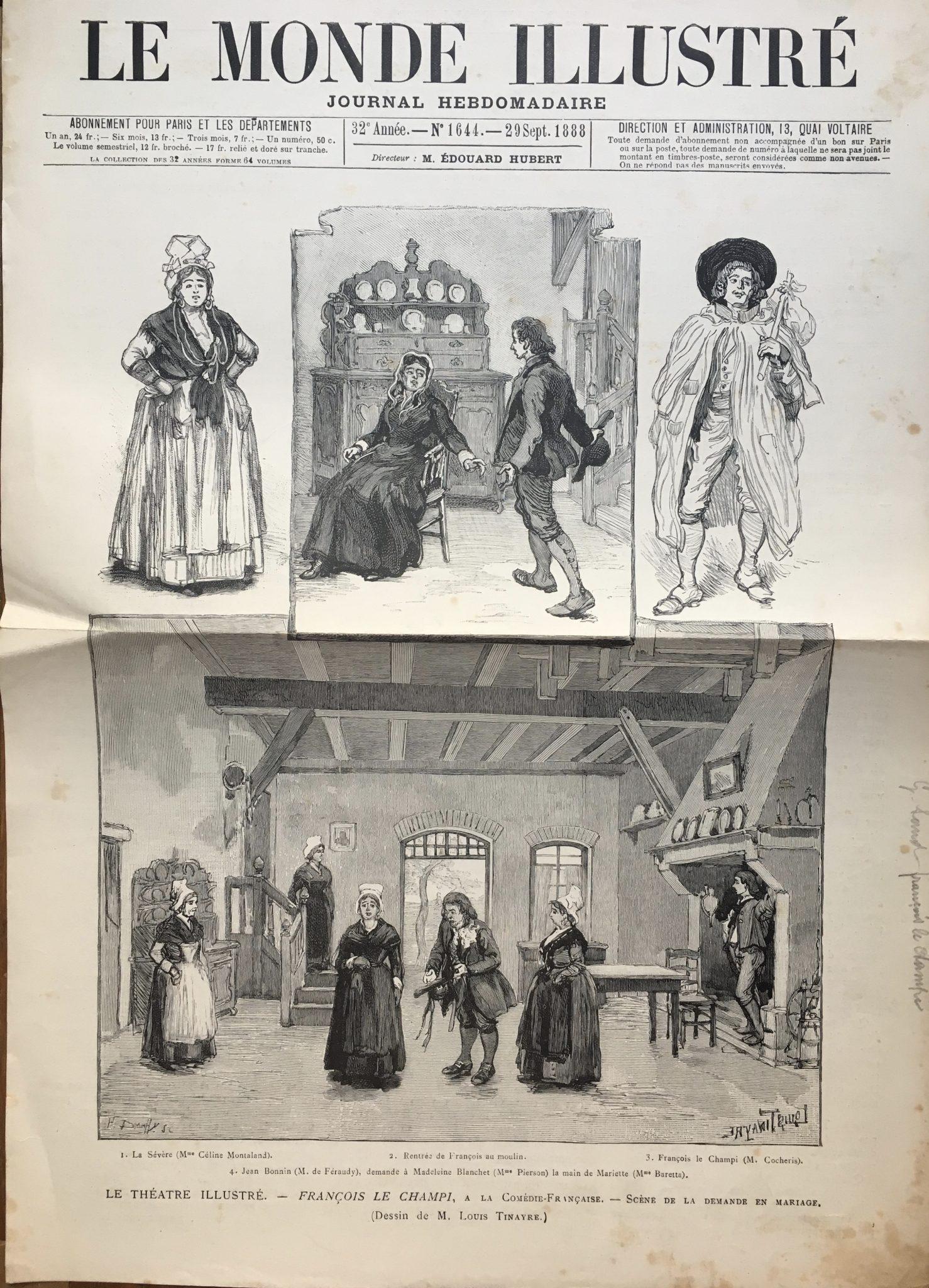 Le Monde Illustré 1888