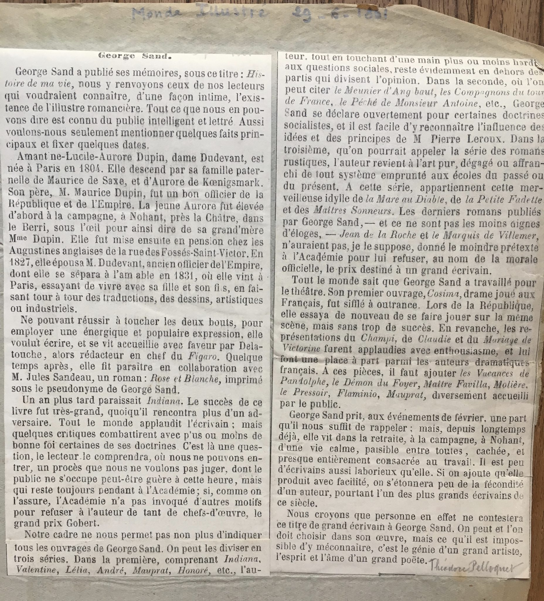 Le Monde Illustré 1861