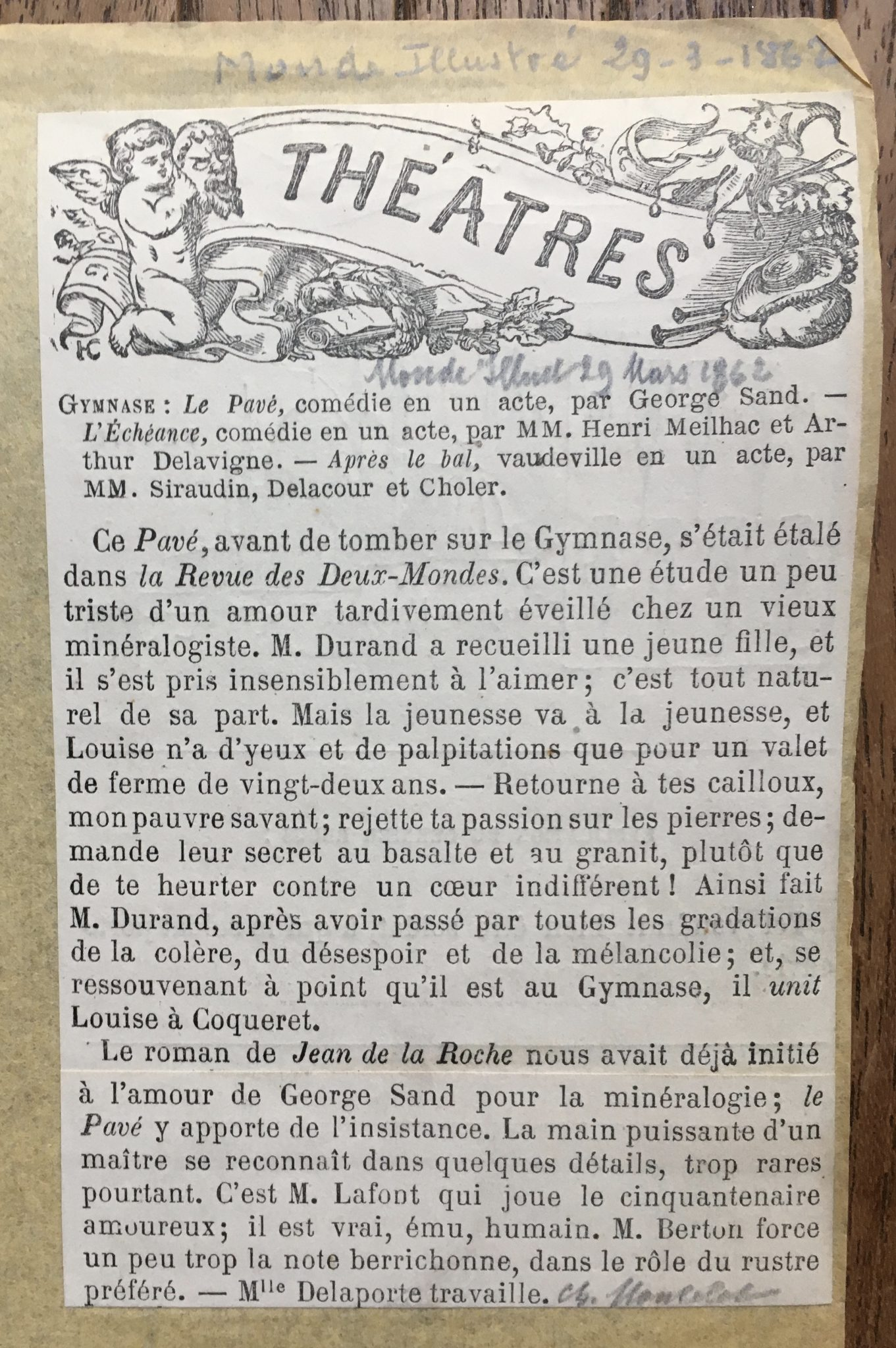 Le Monde Illustré 1862